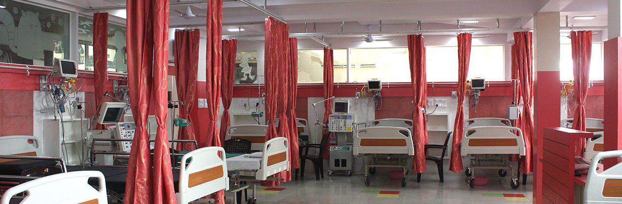 Maitri Hospital beds